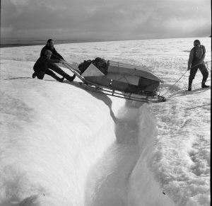 Spitsbergen lata 70.