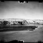387-The POLONIA GLACIER-cliff-S view-(low tide)-21-AR